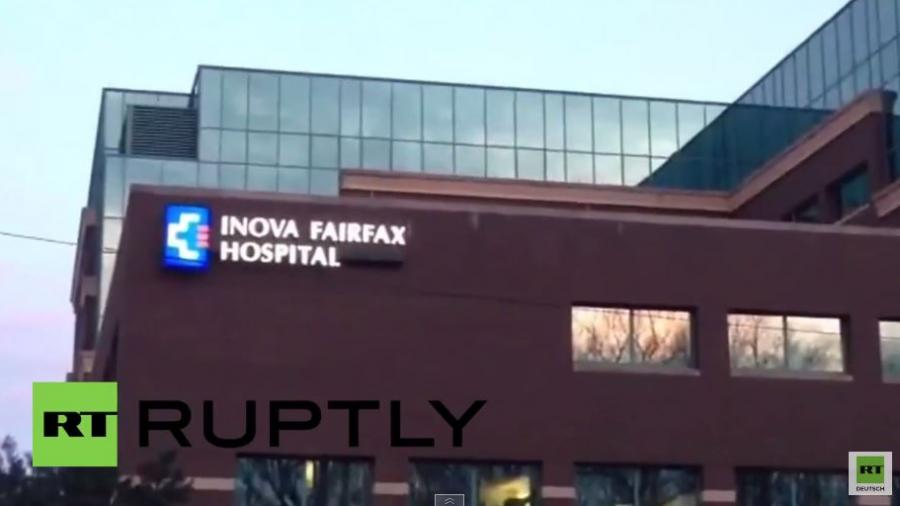 Polizei sucht nach bewaffnetem Häftling, der aus Virgina-Krankenhaus flüchtete