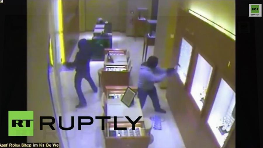 KaDeWe Raubüberfall - Polizei veröffentlicht Video