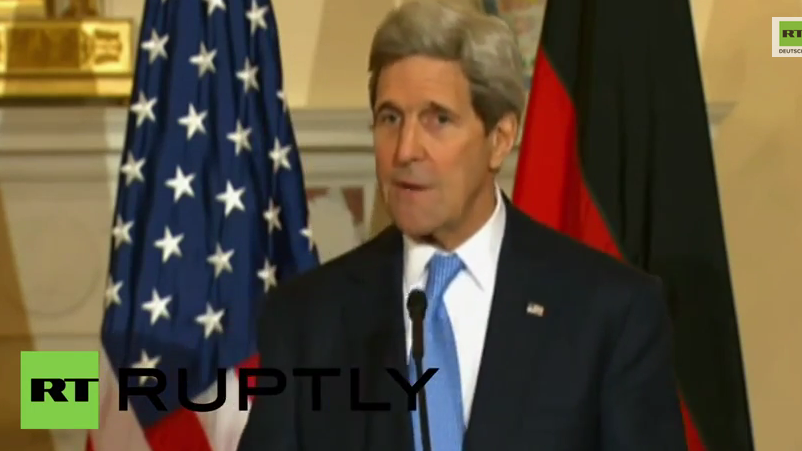 USA: John Kerry bestätigt neue Sanktionen