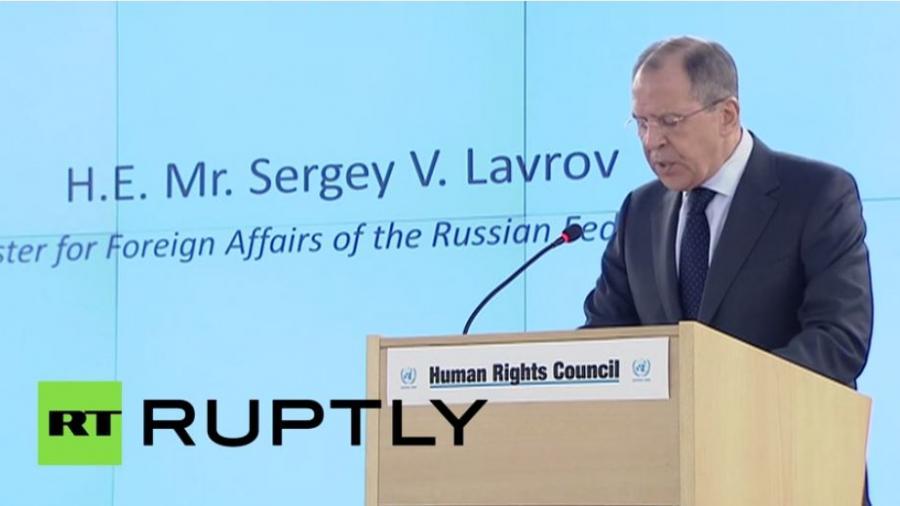 """Lawrow: """"Der Mord an Nemzow war ein schmutziges Verbrechen und wird mit allem Nachdruck untersucht werden"""""""