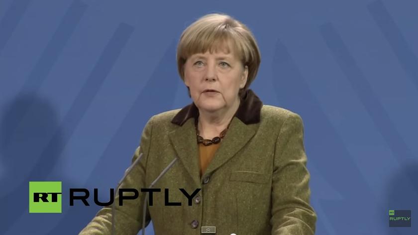 Merkel gibt Pressekonferenz nach neuen Erkenntnissen zum Absturz des Germanwings-Fluges