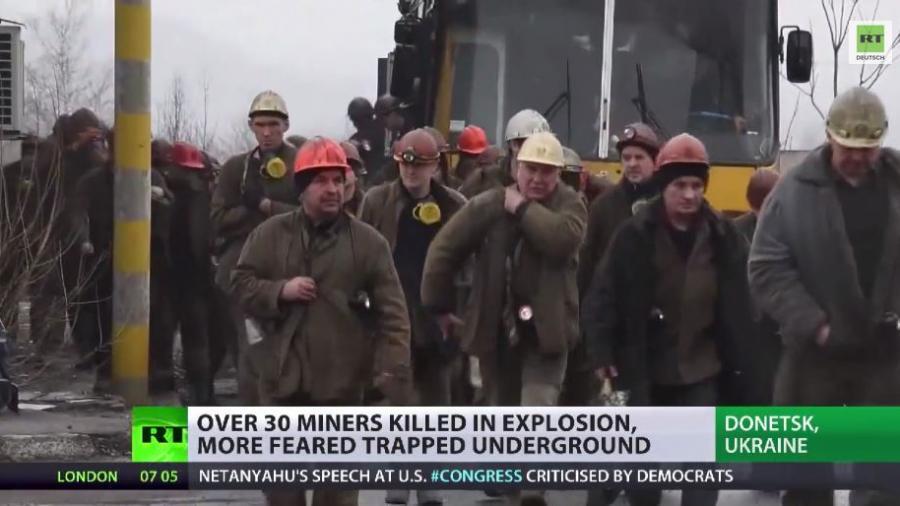 Dutzende Menschen bei Gasexplosion in Mine getötet