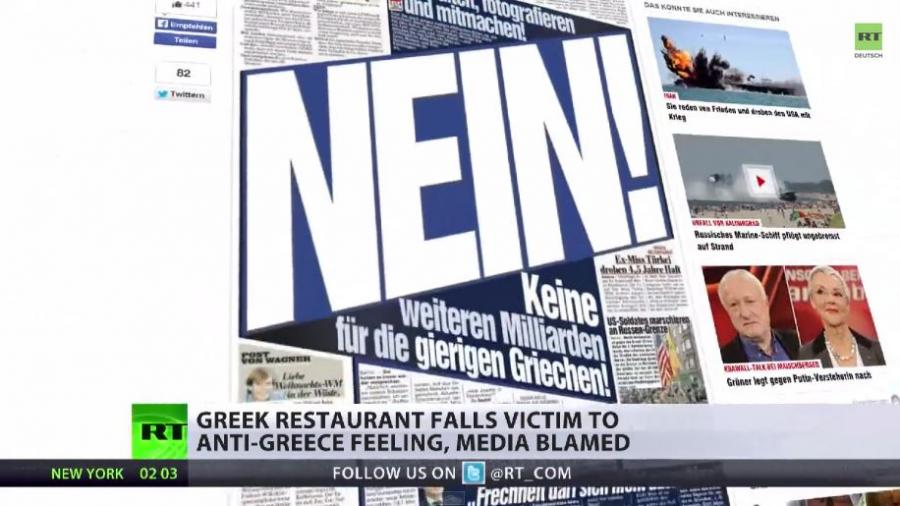 Medienhetze auf Allzeithoch - Griechin erhält Hassbrief eines Deutschen