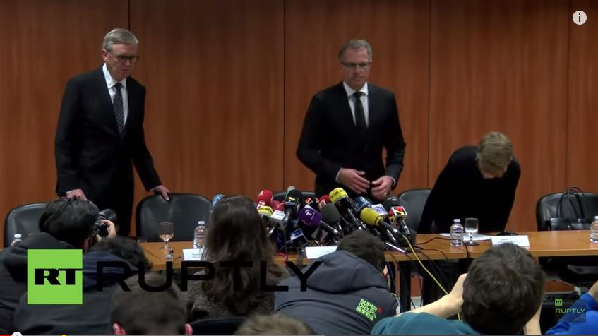 Live: Lufthansa-Pressekonferenz: Co-Pilot hat vermutlich in Selbstmordabsicht den Absturz provoziert