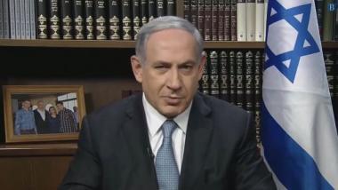 Soll, wenn es nach vielen Britten geht, sich wegen Kriegsverbrechen verantworten: Israels Ministerpräsident Benjamin Netanjahu. Bild-Quelle: Ruptly