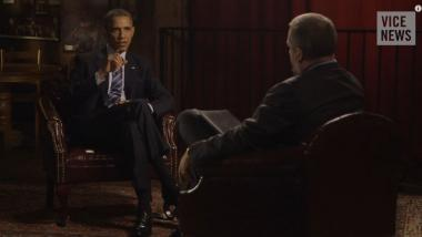 Quelle: Vice News- Screenshot/ President Barack Obama Speaks With VICE News