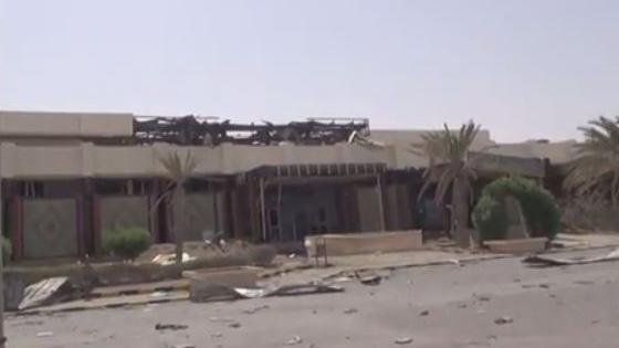Der zerstörte Flughafen in Sanaa - Quelle: Ruptly