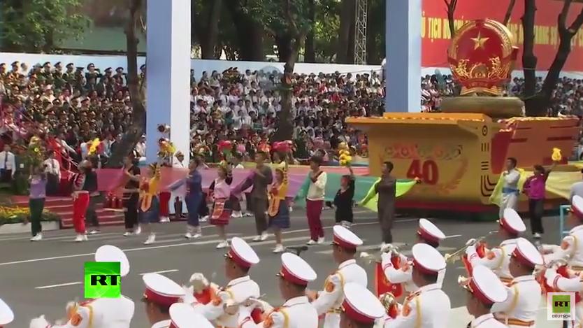 Vietnam hält Militärparade zum Ende des Vietnam-Krieges vor 40 Jahren ab