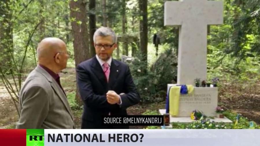 Ukrainischer Botschafter in Deutschland ehrt Nazi-Kollaborateur Bandera in München