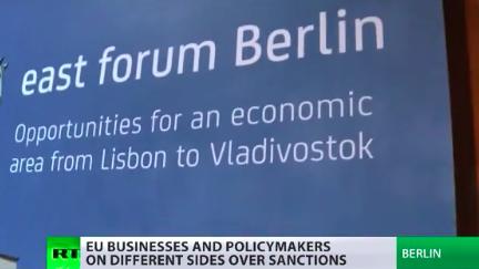Europäische Wirtschaft kritisiert EU-Sanktionsregime gegen Russland