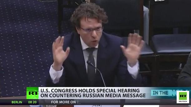 Anhörung des US-Kongress deckt auf: Die RT-Verschwörung gegen die freie westliche Welt