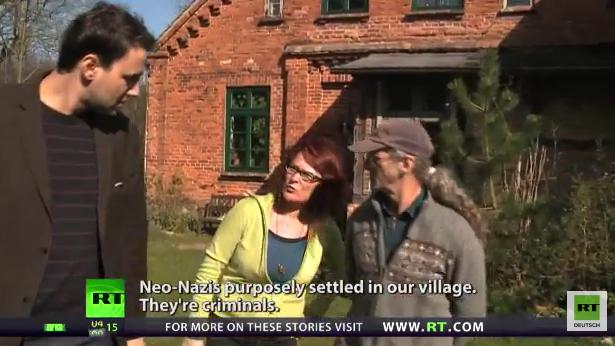 Neo-Nazis okkupieren ostdeutsches Dorf - Die übrigen Anwohner sind in Angst