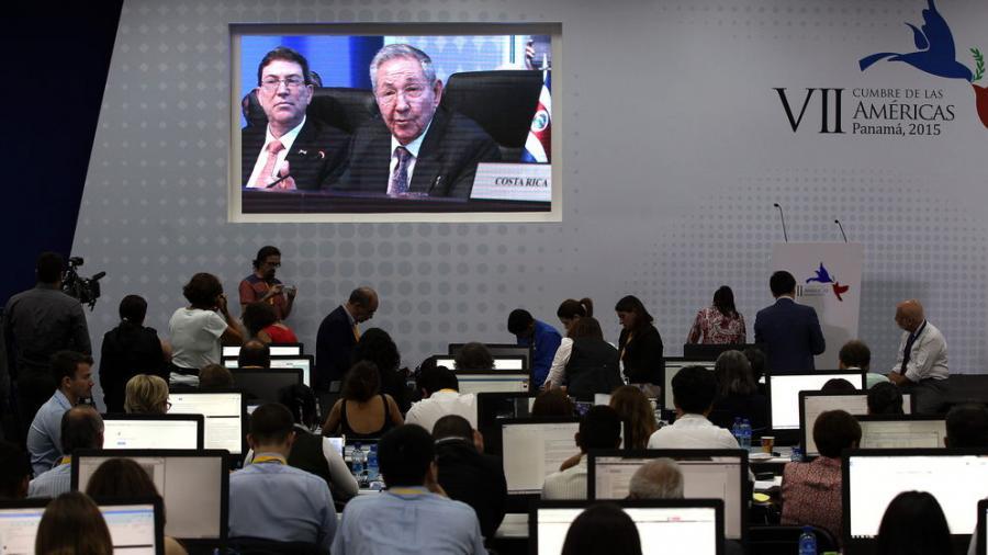 """Raul Castro vor dem Amerika-Gipfel in Panama: """"Es wurde Zeit, dass ich hier im Namen von Kuba spreche"""""""