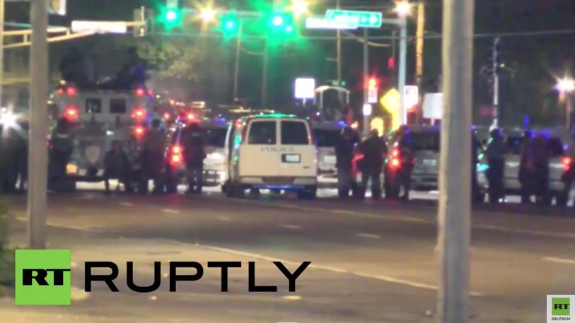 Ferguson: Nach Protesten mindestens zwei Menschen bei Schießerei verletzt