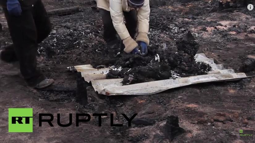 Ukraine: 70 Hunde bei lebendigem Leibe verbrannt