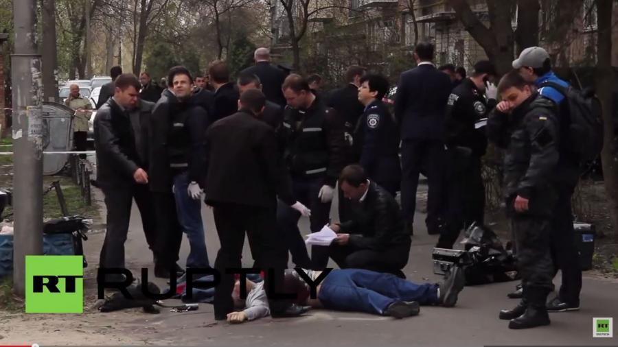Wo bleibt der Aufschrei des Westens? Erneut regierungskritischer Journalist in Kiew auf offener Straße ermordet