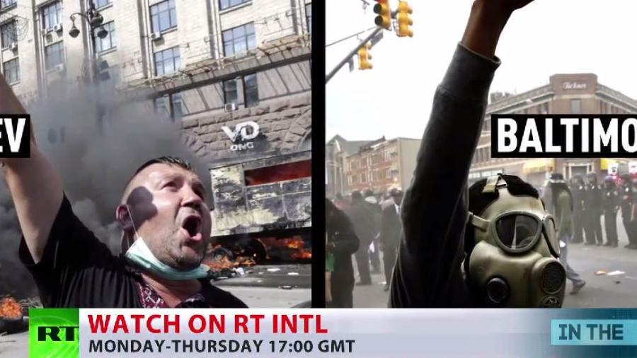 """Wer definiert """"Randale""""? - RT vergleicht Mediensprache und Bilder zu Maidan und Baltimore"""