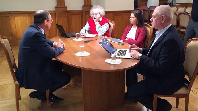 Zusammenfassung der Fragerunde mit Außenminister Lawrow in Moskau