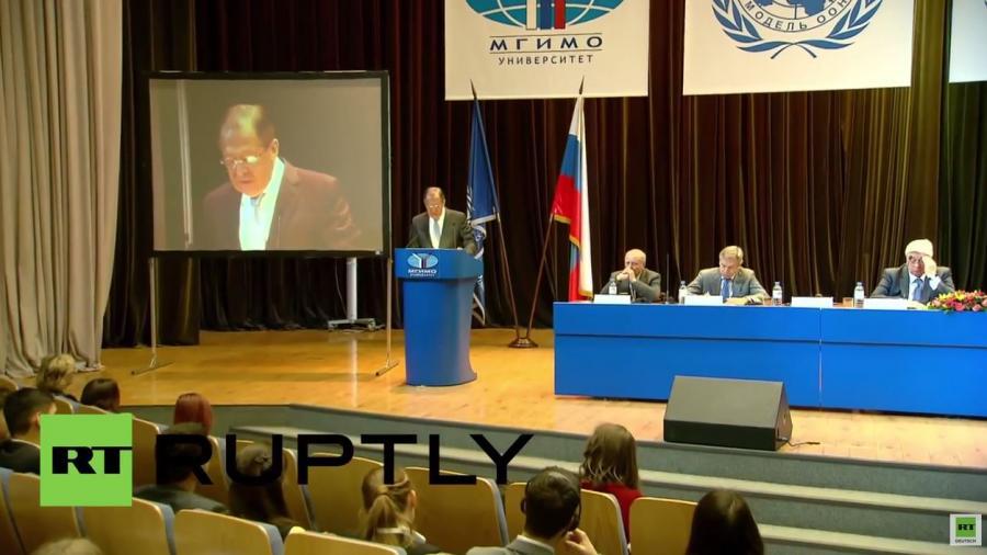 Lawrow: Nur Dank unseres UN-Vetos ist Syrien kein zweites Libyen geworden