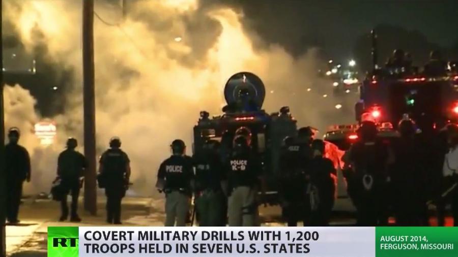 Angst vor Rebellion? US-Militär und Polizei trainieren in 7 Bundesstaaten Aufstandsbekämpfung im Inland