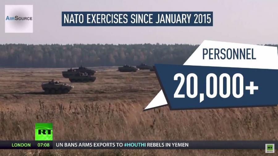 """Massive Zunahme von NATO-Manövern in Osteuropa und West-Medien sprechen von """"russischer Aggression"""""""