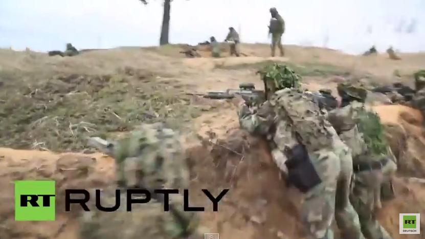"""Lettland: NATO trainiert den Ernstfall – """"Befreiung von Riga"""""""
