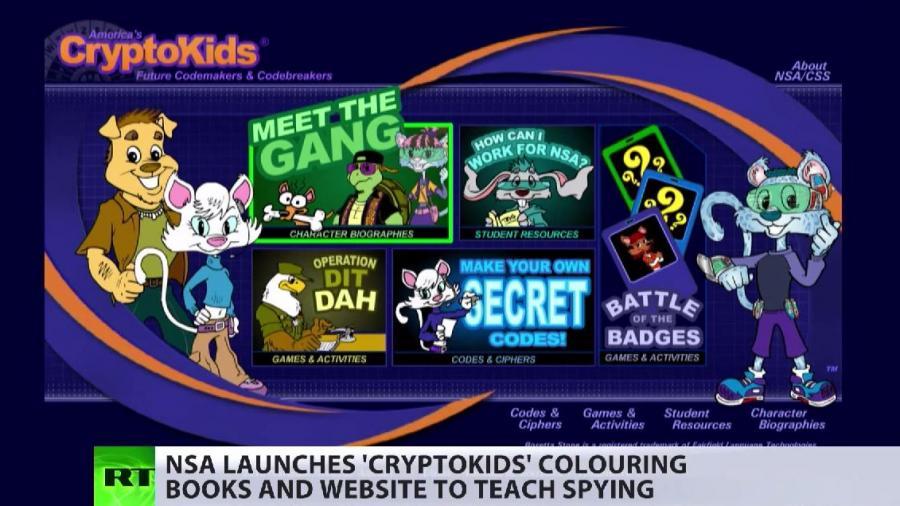 """""""Die NSA ist ganz dufte"""" – Neue Imagekampagne des US-Geheimdienstes zielt auf Kinder"""