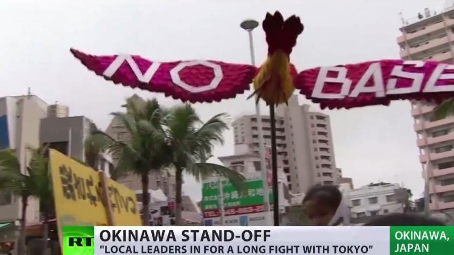 Japan: Erneut Protestwelle gegen US-Militärbasis in Okinawa