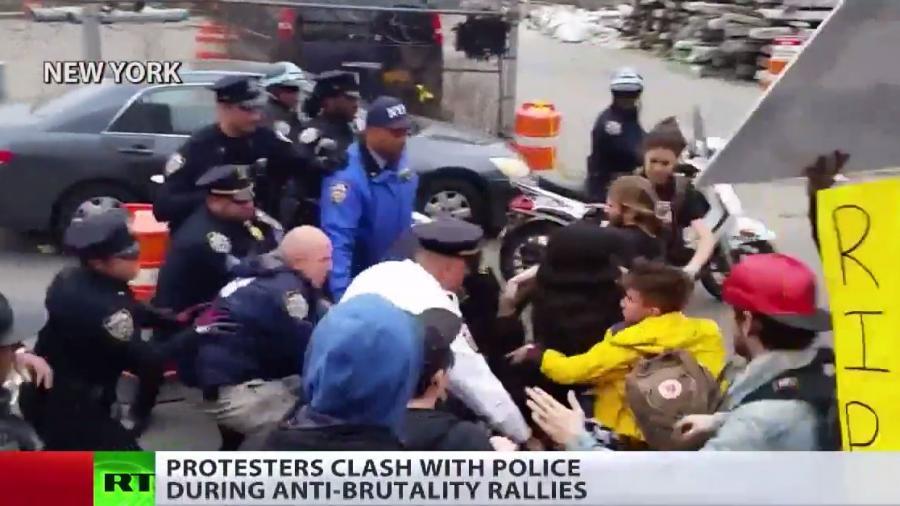 Es reicht! Tausende demonstrieren in den USA gegen Polizeigewalt