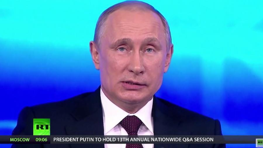 """RT präsentiert die Höhepunkte des """"Direkten Drahtes"""" mit Putin"""