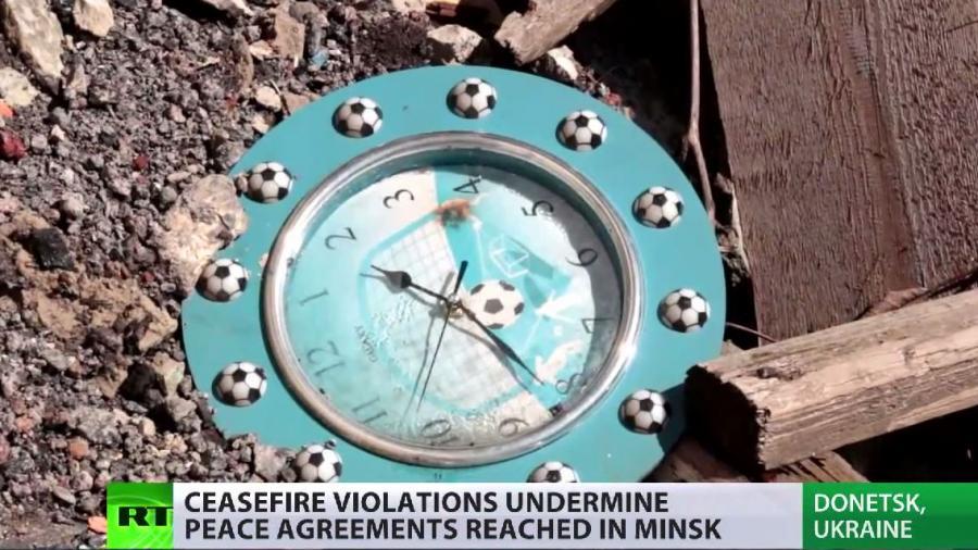 RT Spezial: Bericht über brüchige Waffenruhe in der Ostukraine