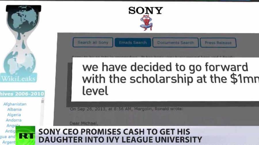"""""""Bildungskorruption"""" der US-Eliten - Wikileaks enthüllt neue Skandale im Rahmen der Sony-Hacks"""