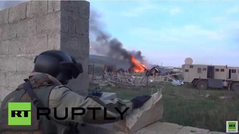Russische Spezialeinheit Speznas tötet Islamisten-Anführer