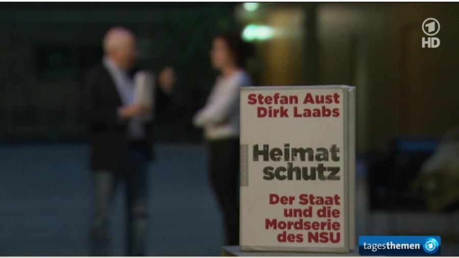 Programmbeschwerde gegen ARD-Tagestehmen wegen Schleichwerbung für Buch von Welt-Herausgeber Aust