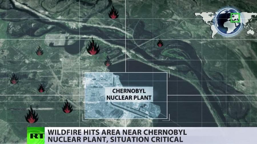 Waldbrand vor Tschernobyl: Widersprüchliche Angaben zur Gefährlichkeit der Situation