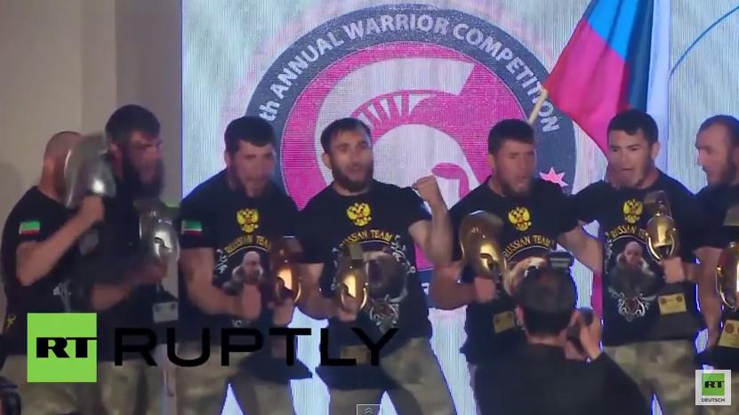 """Jordanien: Russische Spezialeinheit gewinnt 7. """"Krieger Wettkampf"""""""