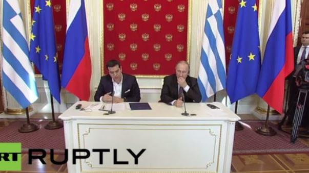 Live aus Moskau: Tsipras und Putin geben gemeinsame Pressekonferenz