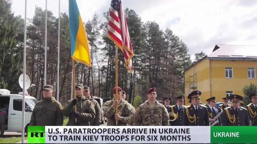 Trainieren US-Fallschirmjäger in der Ukraine auch Mitglieder des Asow-Bataillons?