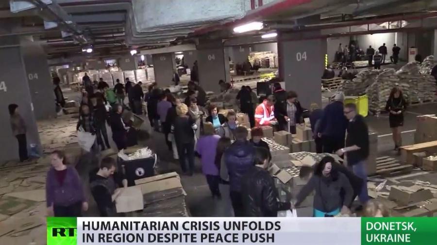 Kiews Wirtschaftsblockade provoziert humanitäre Katastrophe in der Ostukraine