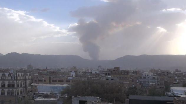 Jemen: Sanaa unter Beschuss