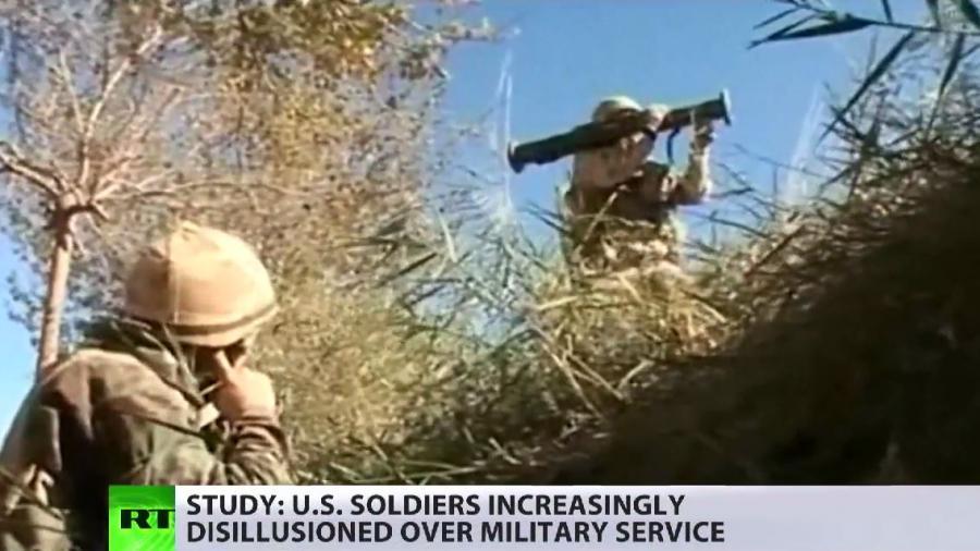 Neue repräsentative Studie: Moral der US-Truppen ist auf dem Tiefpunkt