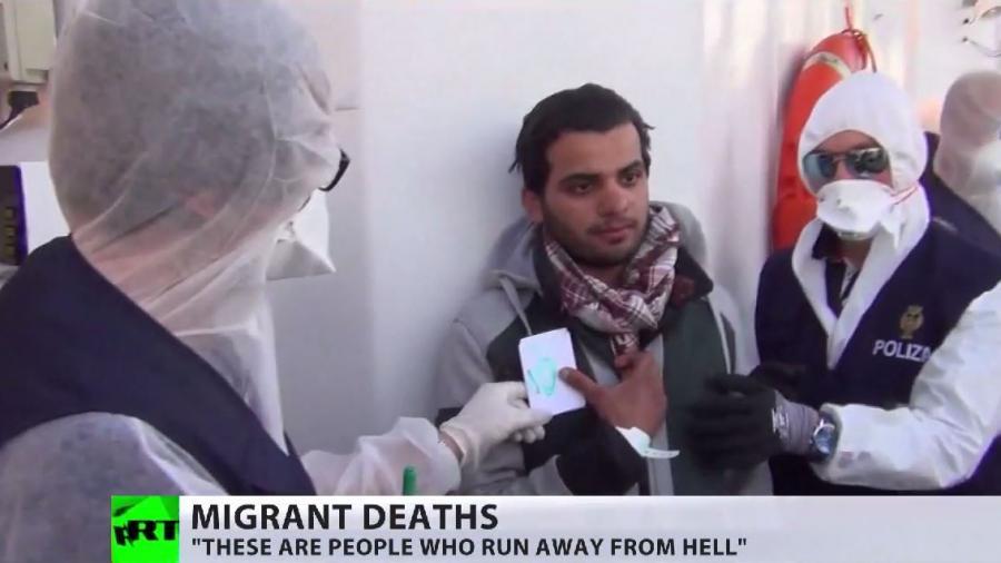 Flüchtlingsdrama: 700 Tote im Mittelmeer - Folge westlicher Interventionspolitik?