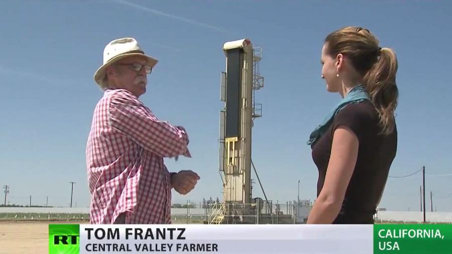 Dürre in den USA, aber Fracking-Unternehmen haben Freifahrschein für Verschwendung und Verunreinigung von Wasser