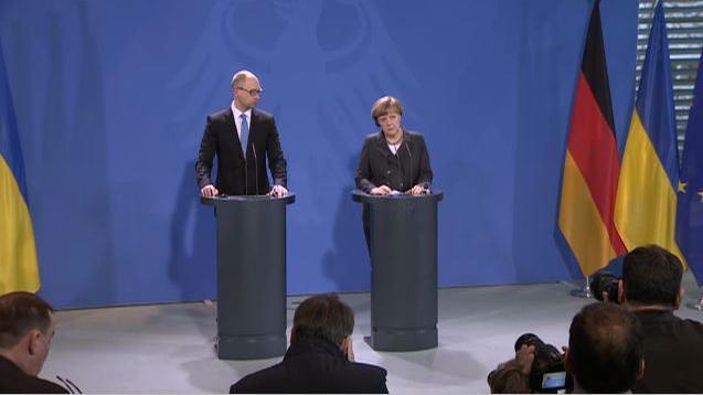 Ändern Berlin und Brüssel ihre Lageeinschätzug? Deutschland und EU mahnen Kiew zur Umsetzung von Minsk II