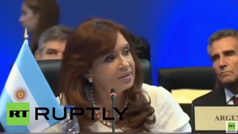 Präsidentin von Argentinien zur destabilisierenden Rolle von NGOs in Lateinamerika