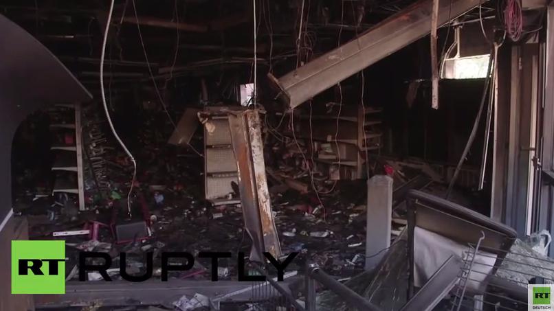 Resümee nach Baltimore-Unruhen: Läden, Apotheke, Spiel- und Bankautomaten geplündert