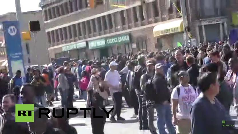 Live: Proteste in Baltimore gehen weiter