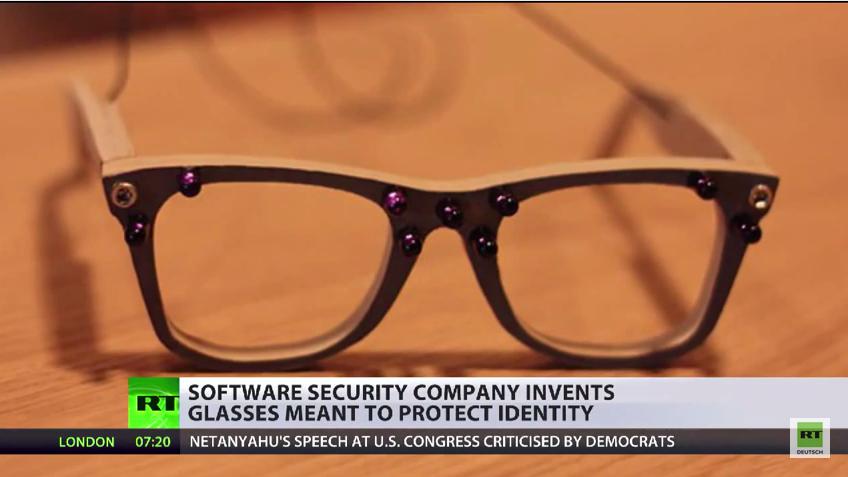 Firma erfindet Anti-Überwachungs-Brille
