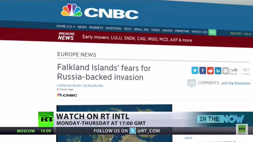 """Putin kann es nicht lassen - Westliche Medien befürchten """"Russland-gestützte Invasion auf Falkland-Inseln"""""""