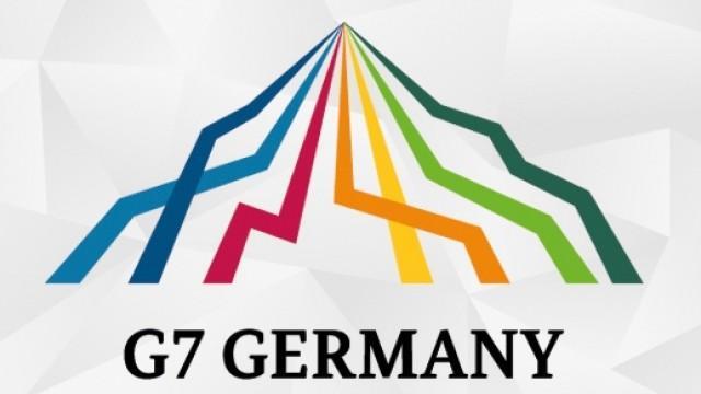 Live G7: Pressekonferenz Steinmeiers und Gästeempfang  im Rathaus der Hansestadt Lübeck